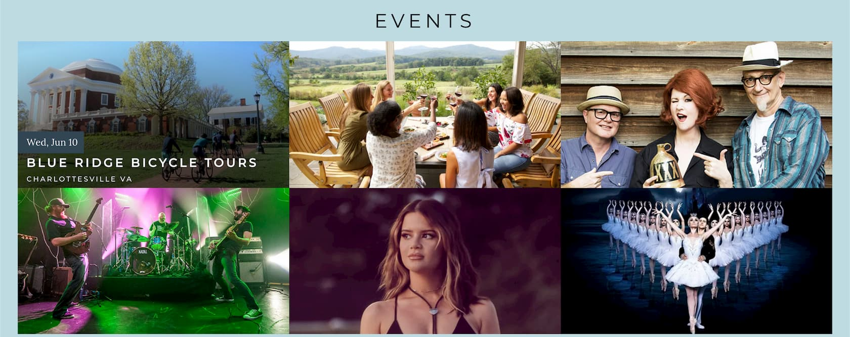 Events in Charlottesville Virginia